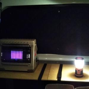 エブリィ車中泊時の車内暖房