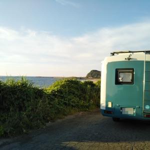 海が見たくなって・・・旧車キャンピングカー下道を走って新潟へ