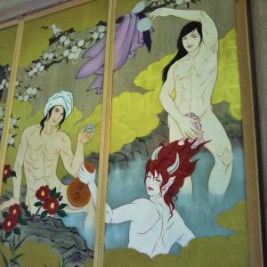 国上寺のイケメン偉人空想絵巻に魅せられて・・・