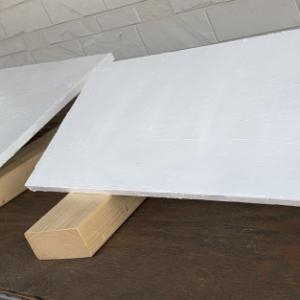 エアコン室外機カバーを作ってみる ②天板づくり