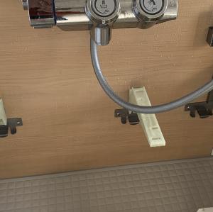 年末大掃除 浴室の裏までお掃除