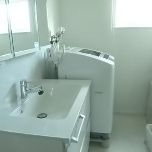 【ルームツアー】 ランドリールームと洗面台