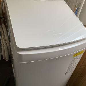洗濯機が届いた!