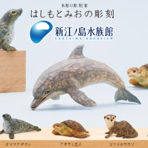 『はしもとみおの彫刻 新江ノ島水族館』が限定発売! 期間限定でオンライン購入OKに