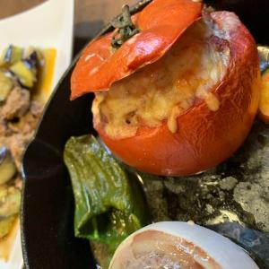 トマト、タマネギ料理