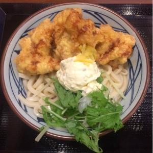 【食レポ】元160キロの食いしん坊がタル鶏天ぶっかけうどんを食べてみた【丸亀製麺】