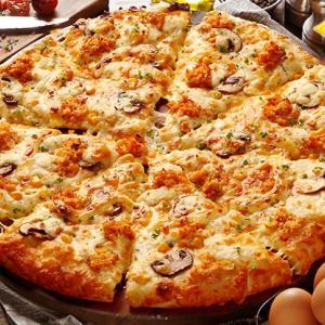 """【エア喰い】激ウマなのかな?元160キロのおっさんが期間限定『カニマヨ』ピザを食べた""""つもり""""になってみた【ピザーラ】"""
