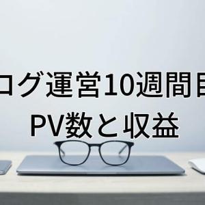 【運営報告】大学生ブログ運営10週間目のPV数と収益