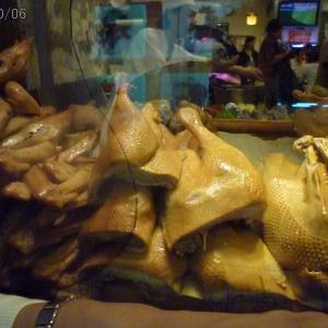 2010年6月:21號鵝肉海鮮のガチョウ肉