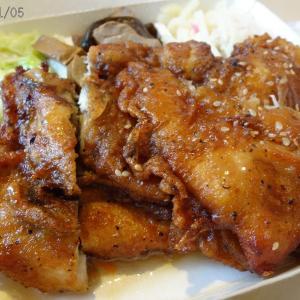 2011年5月:錦州街の雞腿王餐盒
