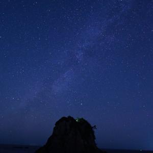 ✡福井県の海岸で星の撮影をしてます🌊