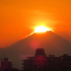 ダイアモンド富士、見れるかな?