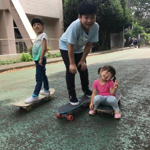 ローカルスケートスポット (あきる台公園)
