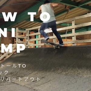 How To mini ramp☆ [BS5−0toテールロックFSテールリバートアウト]スケー
