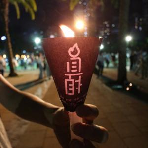 それでもキャンドルは灯った-天安門追悼集会