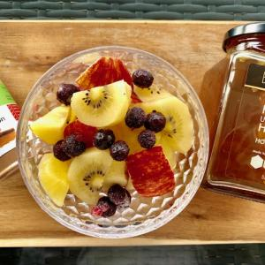 健康と美容にヘンプシードの朝食