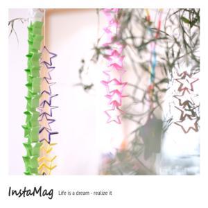 【自分用メモ】簡単・可愛い⭐︎折り紙で作れる七夕飾り