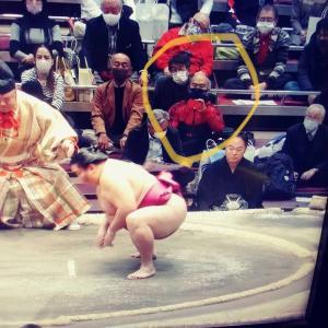 向正面のすなかぶりで相撲観戦してきた❗️