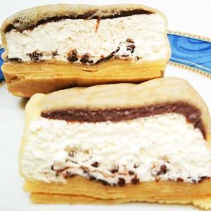 もっちりを上回るパリパリ食感☆「 生チョコクリーム&ホイップ」