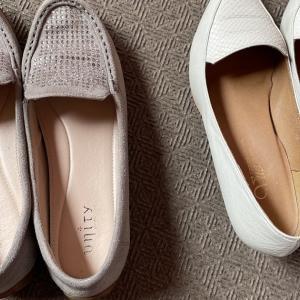 靴2足を断捨離
