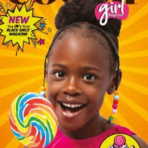 イギリス初の黒人の女の子向け雑誌