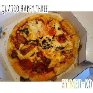 じいじばあばと敬老の日-ドミノ・ピザのお気にいりチョイス-