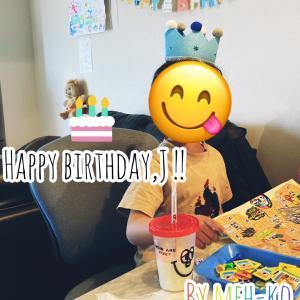Jの誕生日とメルカリ☆