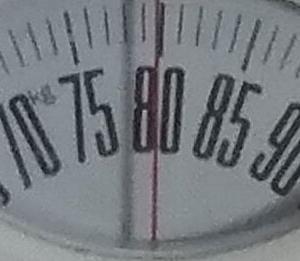 体重チェック2020/9/24(木)