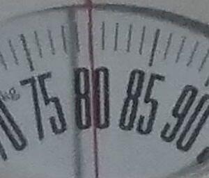 体重チェック2020/9/25(金)