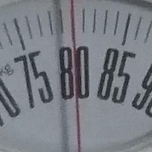 体重チェック2020/9/27(日)