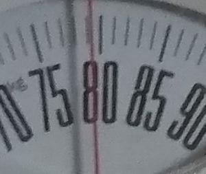 体重チェック2020/10/21(水)