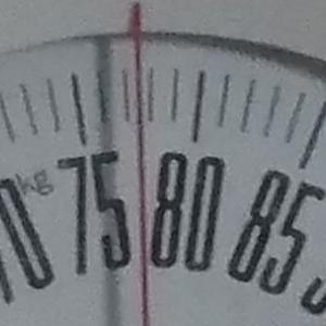 体重チェック2020/10/29(木)