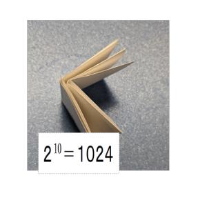 おうち時間に紙折り10回挑戦