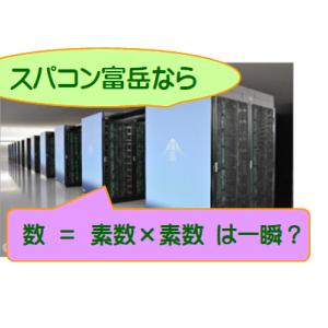 """暗号解読:スパコンで素因数分解は""""一瞬""""か?"""