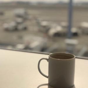 大好きな羽田空港での〜んびり過ごしました。