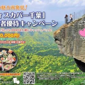 千葉県内宿泊者に最大5千円還元 キャンペーン第2弾
