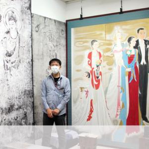幻の特別展を「再現」 法隆寺金堂壁画複製写真など
