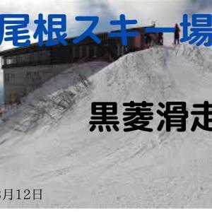 八方尾根スキー場・黒菱ゲレンデ滑走(編集版)