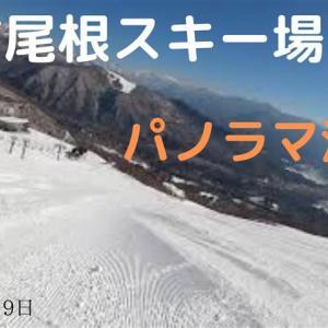 八方尾根スキー場・パノラマ滑走(20220年3月19日)