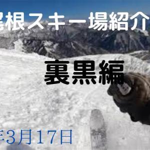 八方尾根スキー場紹介・裏黒編(2020年3月17日)