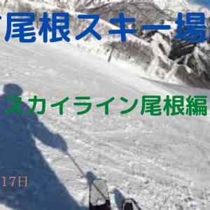 八方尾根スキー場紹介・スカイライン尾根編(2020年3月17日)
