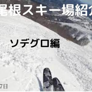 八方尾根スキー場紹介・ソデグロ編(2020年3月17日)