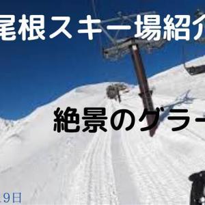 八方尾根スキー場紹介・絶景グラード編(2020年3月19日)