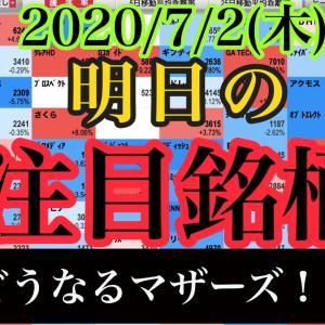 [株おすすめ]【JumpingPoint!!の10分株ニュース】2020年7月2日(木)