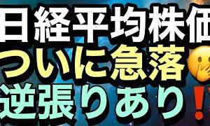 [株おすすめ]7/31【日経平均】暴落↘️✨&ついに第2波🌊❓️ダブルインバース勢の意地❓️🤔それでも私が圧倒的に押し目買いした理由🤔