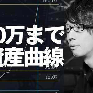 [FXおすすめ]【FX】1,000万円までの資産曲線・成長曲線を解説 / 蜂屋すばるの場合【#すばるライン】