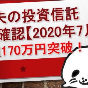 [投資おすすめ]資産額170万円突破!ゴマ夫の投資信託成績を確認2020年7月【iDeCo,NISA,特定口座】