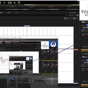 [FXおすすめ]【FXライブ】一変リスクオフモードで円高、スキャ&デイトレ 9/17