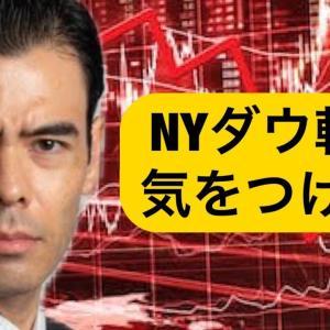 [株おすすめ]NYダウ転落【気をつけろ?】アメリカ銀行株の影響?