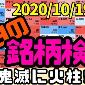 [株おすすめ]【JumpingPoint!!の10分株ニュース】2020年10月19日(月)